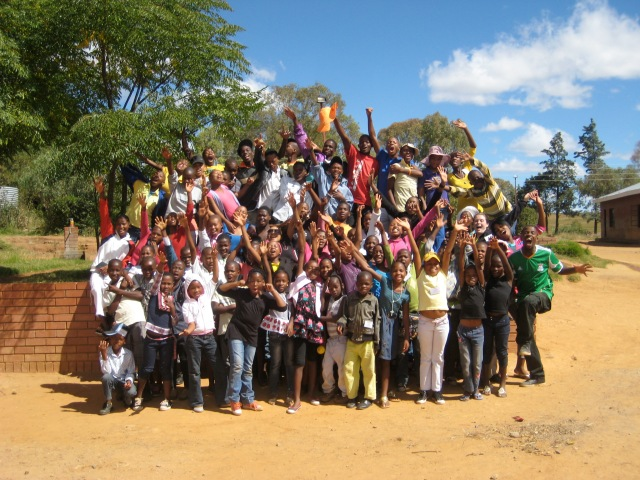LXP Lesotho youth and kids