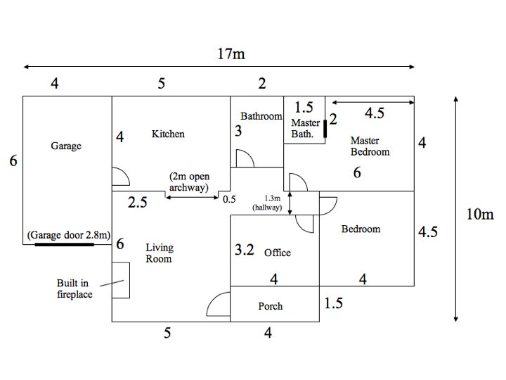 House Floor Plan   LXP LesothoLXP Base House Floor Plan