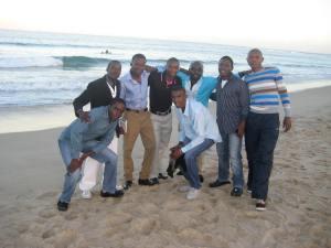 Photo sesh at JBays main beach before the Opening