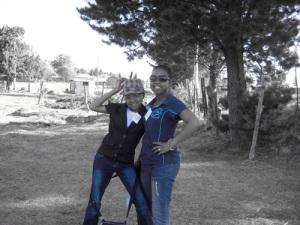 Blue gals