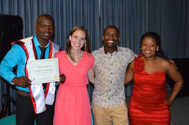 Our own Lehlohonolo Mokoatleng from Lesotho graduated