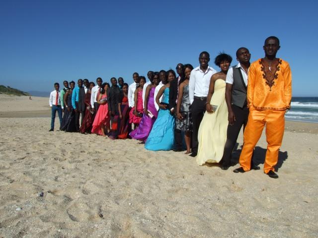 The graduates pre-ceremony