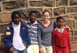 Thabiso, Kheola, Elizabeth and Mamasimphane